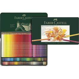 Faber Castell Polychromos Pencils Tin of 120 Thumbnail Image 1