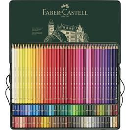 Faber Castell Polychromos Pencils Tin of 120 Thumbnail Image 2
