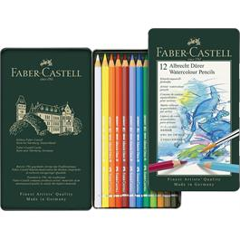 Albrecht Durer Water Colour Pencils Tin of 12 Thumbnail Image 1