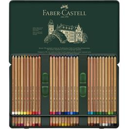 Faber Castell Pitt Pastel Pencil Tin of 60 Thumbnail Image 1