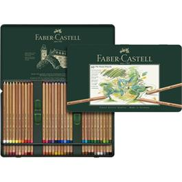 Faber Castell Pitt Pastel Pencil Tin of 60 Thumbnail Image 2