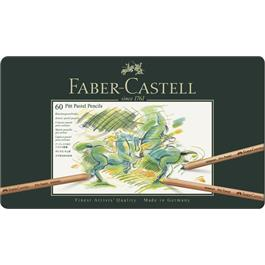 Faber Castell Pitt Pastel Pencil Tin of 60 thumbnail