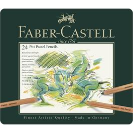 Faber Castell Pitt Pastel Pencil Tin of 24 thumbnail