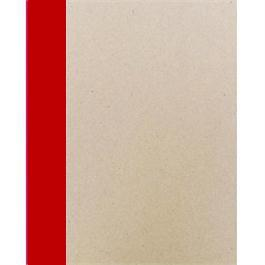 A4 Seawhite Creative Slim Sketchbook RED Spine thumbnail