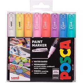 POSCA PC-1M Pastel Pack 8 Pens thumbnail