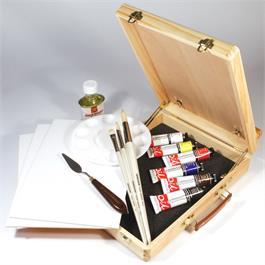 Daler Rowney Graduate Oil Easel Box Set Thumbnail Image 1