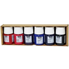 Pebeo Vitrea 160 Glossy Initiation Set 6 x 20ml No.2 Colours Thumbnail Image 1