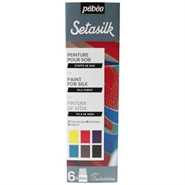 Pebeo Setasilk Initiation Set 6 x 20ml thumbnail