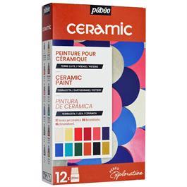 Pebeo Ceramic Explorer Set 12 x 20ml thumbnail
