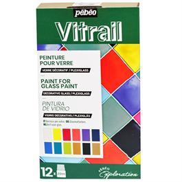 Pebeo Vitrail Explorer Set 12 x 20ml thumbnail