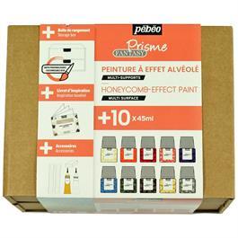 Pebeo Fantasy Prisme Collection Set 10 x 45ml Thumbnail Image 1