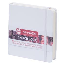 Sketchbook 12x12cm White thumbnail