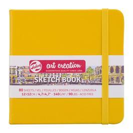 Sketchbook 12x12cm Golden Yellow thumbnail