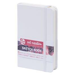 Sketchbook 9x14cm White thumbnail