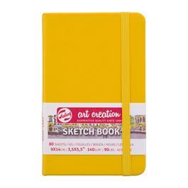 Sketchbook 9x14cm Golden Yellow thumbnail