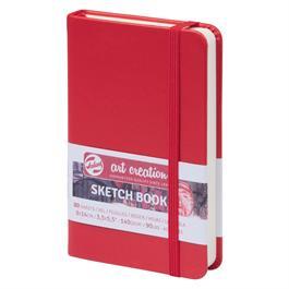Sketchbook 9x14cm Red thumbnail