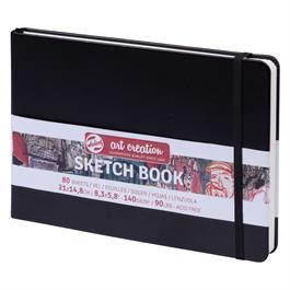 Sketchbook 15x21cm (A5) Black thumbnail