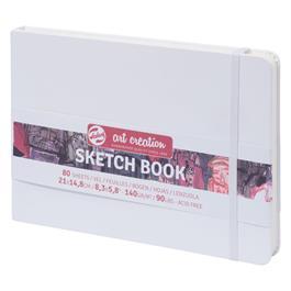 Sketchbook 15x21cm (A5) White thumbnail