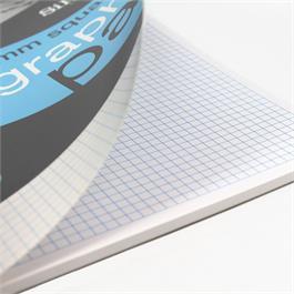 Silvine Professional Graph Pad A4 5mm Square Grid Thumbnail Image 1