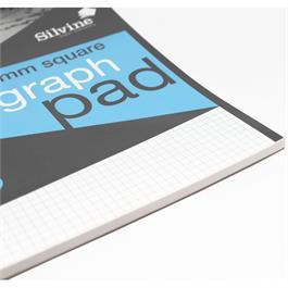 Silvine Professional Graph Pad A4 5mm Square Grid Thumbnail Image 2