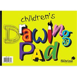 Silvine Children's A4 Drawing Pad 20 Sheets thumbnail