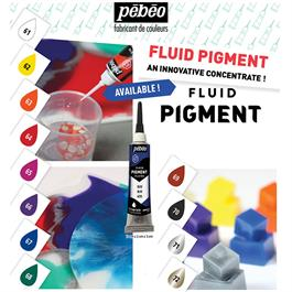 Pebeo Fluid Pigment 20ml Tube Thumbnail Image 2