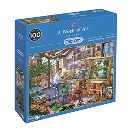 A Work of Art Jigsaw 1000pc Thumbnail Image 0