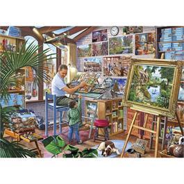 A Work of Art Jigsaw 1000pc Thumbnail Image 1
