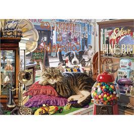 Abbey's Antique Shop Jigsaw 1000pc Thumbnail Image 1