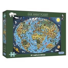 Our Great Planet Jigsaw 1000pc Thumbnail Image 0