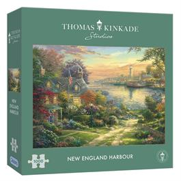 New England Harbour Jigsaw 1000 pieces  thumbnail