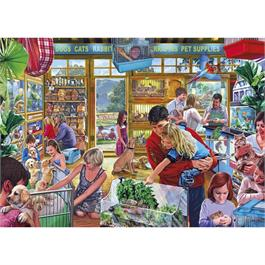 Furry Friends Jigsaw 1000pc Thumbnail Image 1