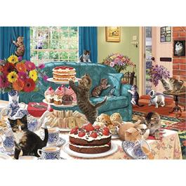 Feline Frenzy Jigsaw 1000pc Thumbnail Image 1