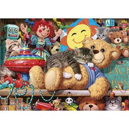 Snoozing on the Ted Jigsaw 1000pc Thumbnail Image 1