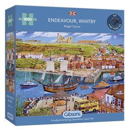 Endeavour Whitby Jigsaw 1000pc Thumbnail Image 0