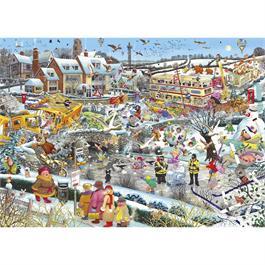 I Love Winter Jigsaw 1000pc Thumbnail Image 1