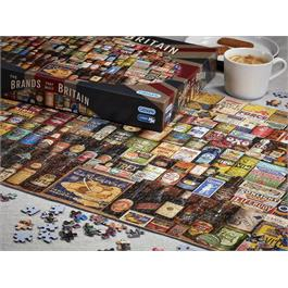 The Brands that Built Britain Jigsaw 1000 Pieces Thumbnail Image 2