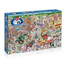 I Love Weddings Jigsaw 1000pc Thumbnail Image 0