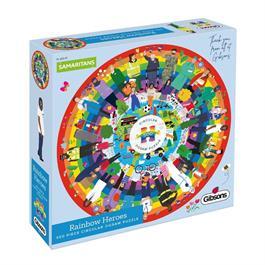 Rainbow Heroes Jigsaw 500pc (CIRCULAR) thumbnail