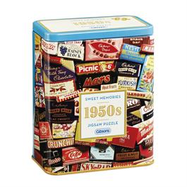 1950s Sweet Memories Gift Tin - Jigsaw 500pc thumbnail