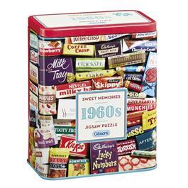 1960s Sweet Memories Gift Tin - Jigsaw 500pc Thumbnail Image 0