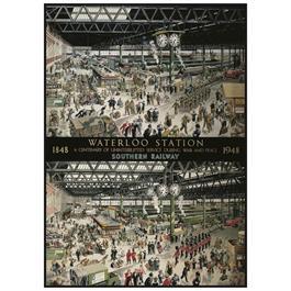 Waterloo Station Jigsaw 1000pc Thumbnail Image 1