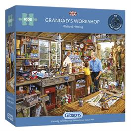Grandads Workshop Jigsaw 1000pc Thumbnail Image 0