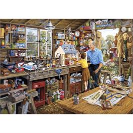 Grandads Workshop Jigsaw 1000pc Thumbnail Image 1