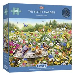 The Secret Garden Jigsaw 1000 pieces Thumbnail Image 0