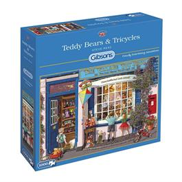 Teddy Bears & Tricycles Jigsaw 1000pc Thumbnail Image 0