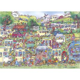 Caravan Chaos Jigsaw 1000pc Thumbnail Image 1