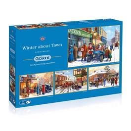 Winter about Town Jigsaw 4 x 500pc thumbnail