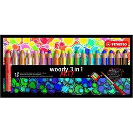 STABILO Woody Pencils Pack of 18 + Sharpener thumbnail
