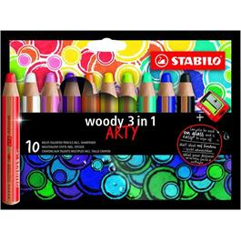 STABILO Woody Pencils Pack of 10 + Sharpener thumbnail